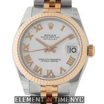 Rolex Datejust Stainless Steel/ 18k Rose Gold Midsize