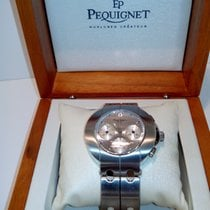Pequignet Steel Automatic 4074433 new