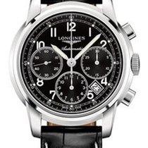 Longines Saint-Imier Chronograph 39mm Black Dial Mens Watch