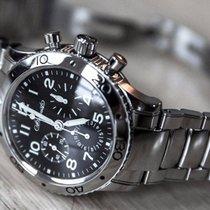 Breguet Type XX - XXI - XXII Mens Steel Watch