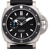 Panerai Luminor Submersible 1950 Amagnetic 3 Days Titanio...