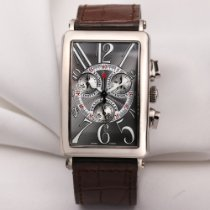 Franck Muller Long Island pre-owned 30mm White gold