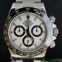 Rolex Daytona Chrono Steel Ceramic Bezel, White Dial Full Set...