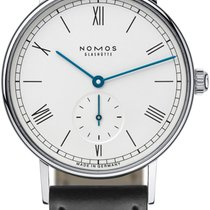 NOMOS Steel 35mm Manual winding Ludwig new United States of America, New York, Airmont