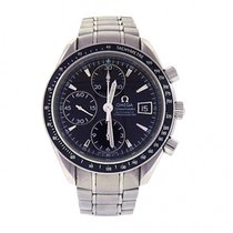 Omega Speedmaster Date Stainless Steel Automatic Men's Watch...