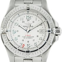 Breitling Colt Quartz Stainless Steel / Silver Dial A7438010