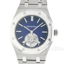 オーデマピゲ Royal Oak Tourbillon Extra-Thin Platinum Bezel Titanium...
