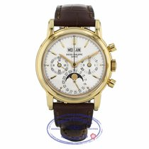 Patek Philippe Perpetual Calendar Chronograph Yellow gold 36mm White United States of America, California, Beverly Hills