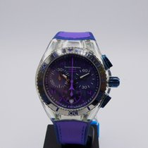 Technomarine Cruise Steel 42mm Purple Arabic numerals