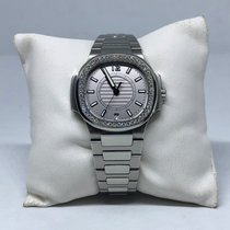 Patek Philippe Nautilus Stainless Steel Diamonds Bezel