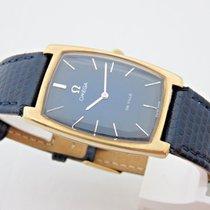 Omega De Ville in oro 18 kt carica manuale orologio uomo anni 70