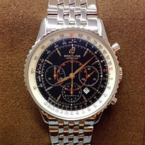 Breitling Montbrillant Black Dial 38mm - Serviced by Breitling