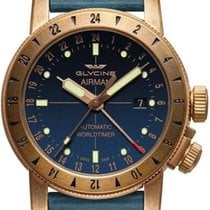 Glycine Airman Steel 44mm Blue