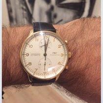 IWC Portuguese Chronograph brugt 40.9mm Rosa guld