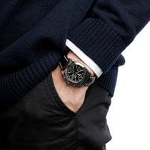 Breitling Chronomat 38 Stahl 38mm Schwarz