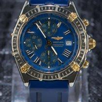 Breitling Chronomat Evolution 43mm Gold/Steel Gold Sub-dials -...