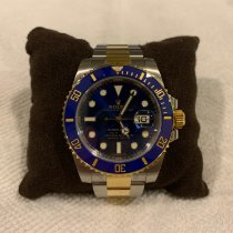 Rolex Submariner Date Gold/Steel 40mm Blue No numerals Malaysia, Petaling Jaya