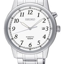 Seiko Steel 40mm Quartz SKA775P1 new
