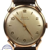 Doxa Rose gold 35mm Manual winding pre-owned