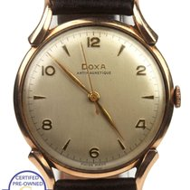 Doxa Chronometer 35mm Manual winding pre-owned Silver