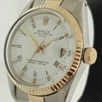 Rolex Oyster Perpetual Date Acero y oro 34mm Blanco Sin cifras Argentina, buenos aires