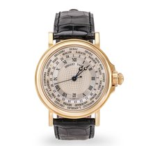 Breguet pre-owned Automatic 38mm Silver Sapphire Glass 3 ATM