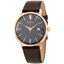 Bulova Steel Quartz 97B154 new