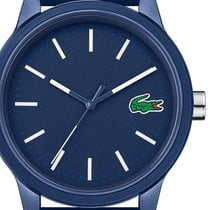 Lacoste Plastic 42mm Quartz 2010987 new