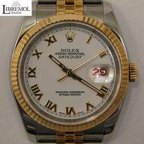 Rolex Datejust Gold/Steel 36mm White Roman numerals