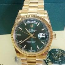Rolex Day-Date 36 Aur galben 36mm Verde România, Recea