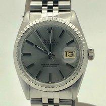 Rolex Datejust Stahl 36mm Silber Keine Ziffern Österreich, wien