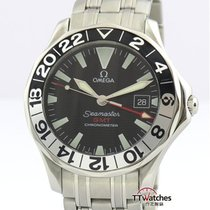 Omega Seamaster Diver 300 M Сталь 41mm Чёрный