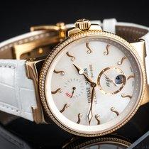Ulysse Nardin Marine Chronometer 41mm Pозовое золото 40mm Перламутровый