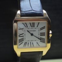 Cartier Santos Dumont Rose gold 30mm Silver Roman numerals United States of America, New York, New York