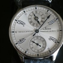 Sinn 6100 Steel 44mm Silver
