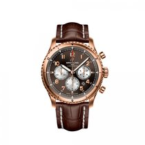 Breitling Red gold Automatic Bronze 43mm new Aviator 8