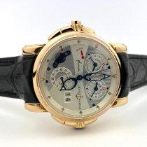 Ulysse Nardin Sonata neu 2006 Automatik Uhr mit Original-Box und Original-Papieren 666-88