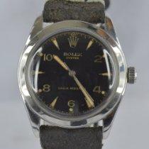 Rolex Stahl 34mm Handaufzug 6082 gebraucht