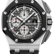 Audemars Piguet Royal Oak Offshore Chronograph Titanium 44mm Grijs