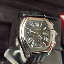 Cartier Roadster Steel 40mm Grey Roman numerals United States of America, New York, Brooklyn
