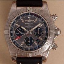Breitling AB0420 Stahl Chronomat GMT 44mm gebraucht