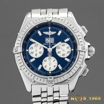 Breitling Crosswind Special Steel 44mm Blue No numerals