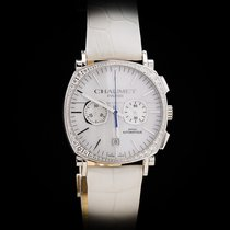 Chaumet new Automatic Display back Guilloché dial Luminous hands 40.5mm White gold Sapphire crystal