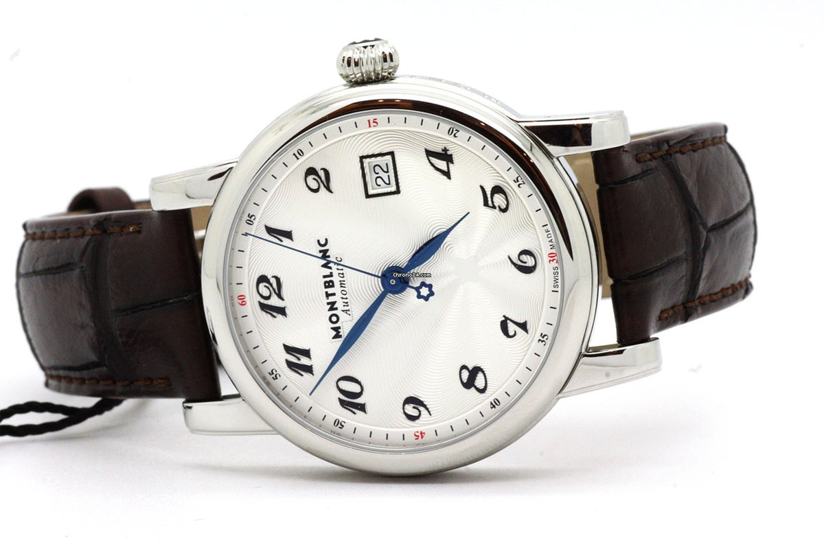 78c8ee2dcf0 Montblanc STAR DATE AUTOMATIC 107315 M2 for $2,230 for sale from a Trusted  Seller on Chrono24