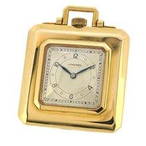 浪琴 (Longines) 18K Gold Pocket Watch, Purse Shaped