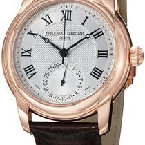 Frederique Constant Manufacture Classic 46.3mm Silver United States of America, New York, Brooklyn