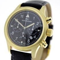 IWC 3741 Yellow gold Pilot Chronograph 35mm