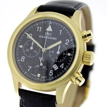 IWC 3741 Or jaune 1988 Pilot Chronograph 35mm occasion
