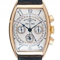 Franck Muller Cintreé Curvex Master Calendar Chronograph 18kt...