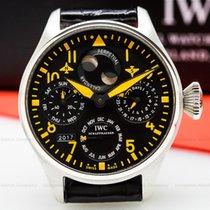 IWC IW502618 Big Pilot OrangePerpetual Calendar SS LIMITED...